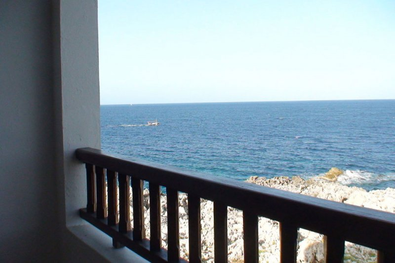 Sea landscape from the Rocas Marinas apartment 4A.