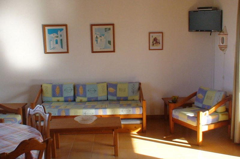 Living room of the Rocas Marinas apartment 5.