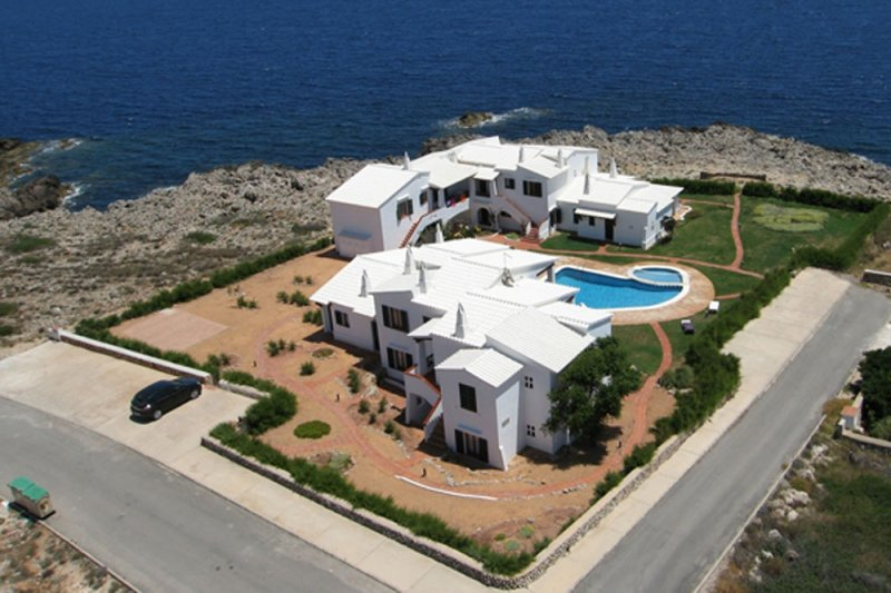 Apartments Rocas Marinas seen from the air.